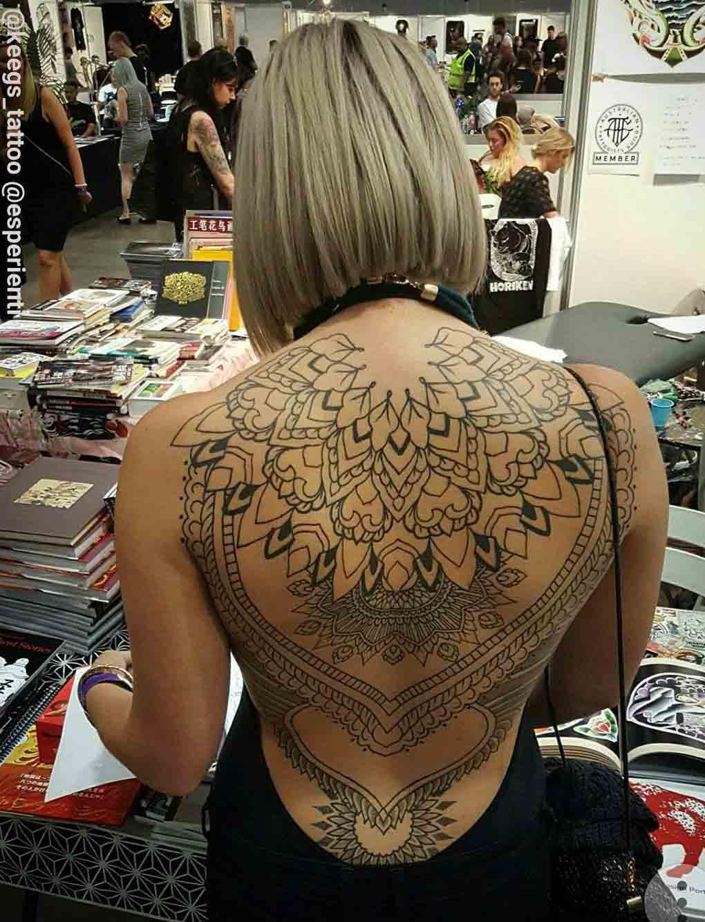 tatuajes espalda mujer | Tatuajes para Mujeres