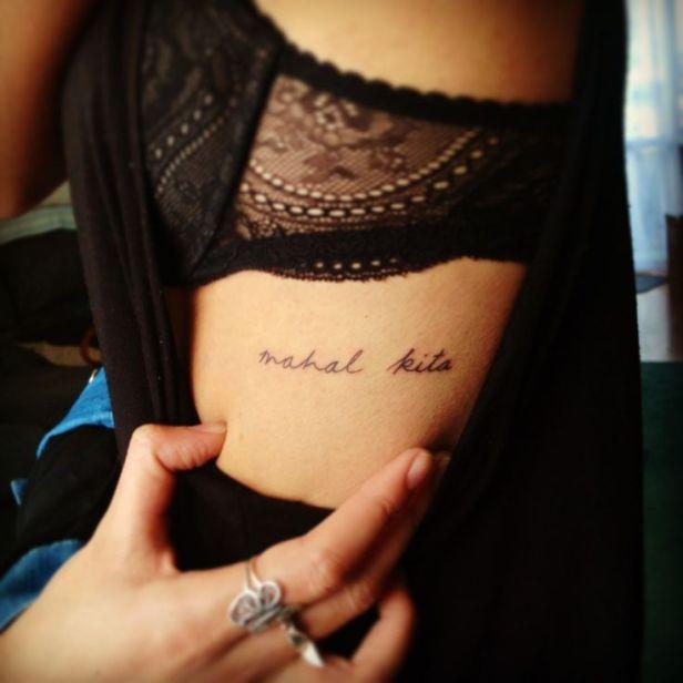Tatuajes En Las Costillas Sexys Y Con Significado Tatuajes Para