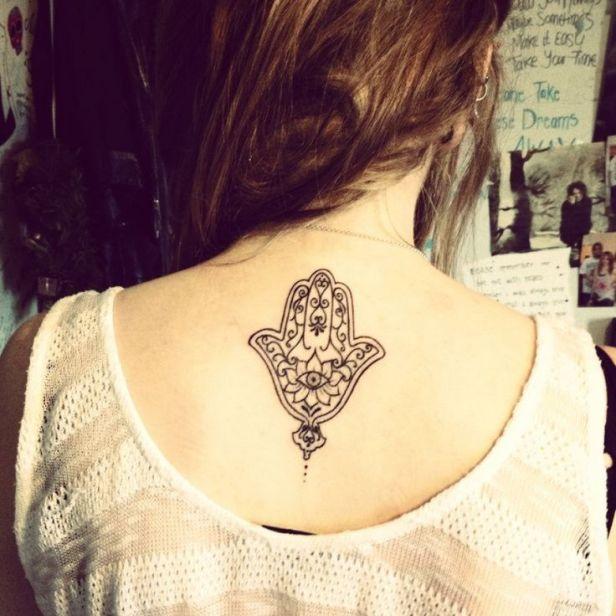 Tatuajes De La Mano De Fatima Para Mujeres Y Su Significado